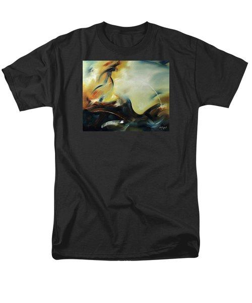 Leap Of Faith Men's T-Shirt  (Regular Fit) by Craig T Burgwardt