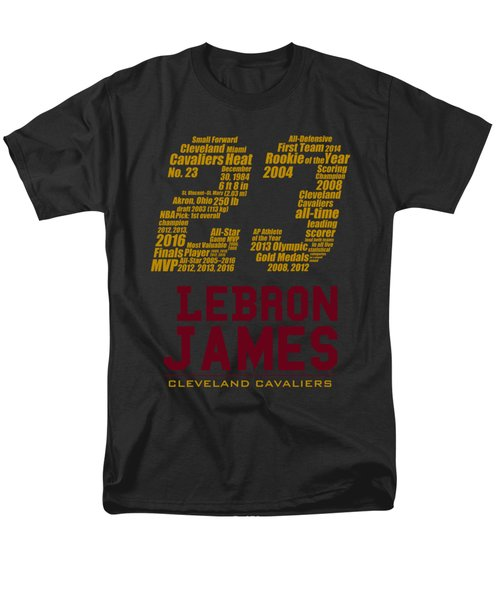 Lebron 23 Men's T-Shirt  (Regular Fit) by Augen Baratbate