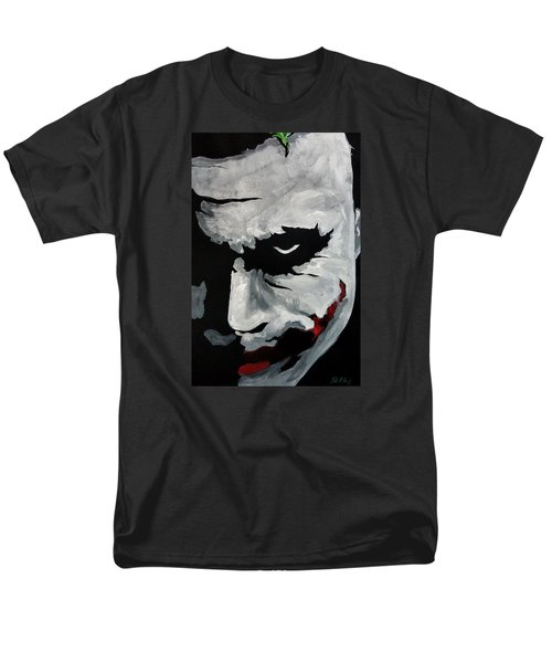 Ledger's Joker Men's T-Shirt  (Regular Fit) by Dale Loos Jr