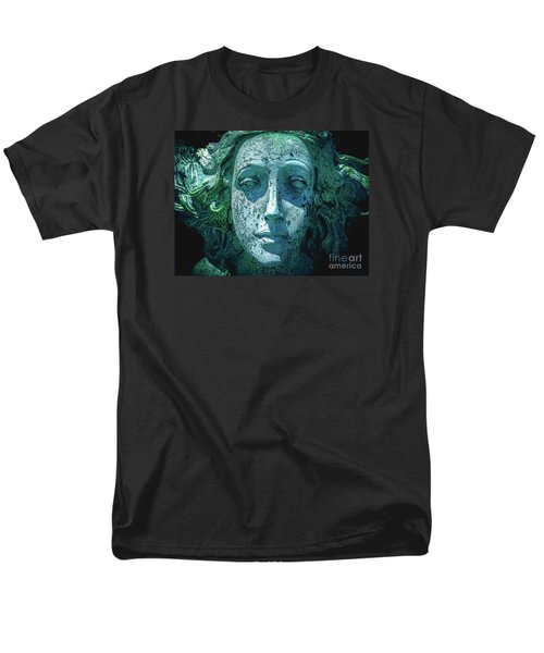 Men's T-Shirt  (Regular Fit) featuring the photograph Legends Of The Mermaid by Colleen Kammerer
