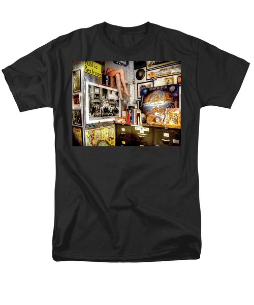 Legs In The Back Of The Shop Men's T-Shirt  (Regular Fit) by Greg Sigrist
