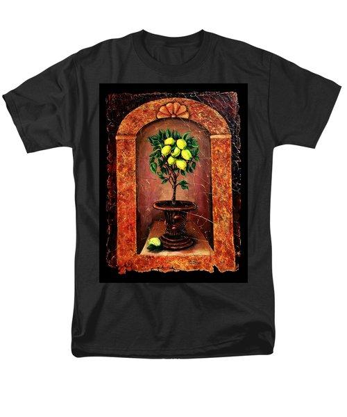 Lemon Tree Men's T-Shirt  (Regular Fit)