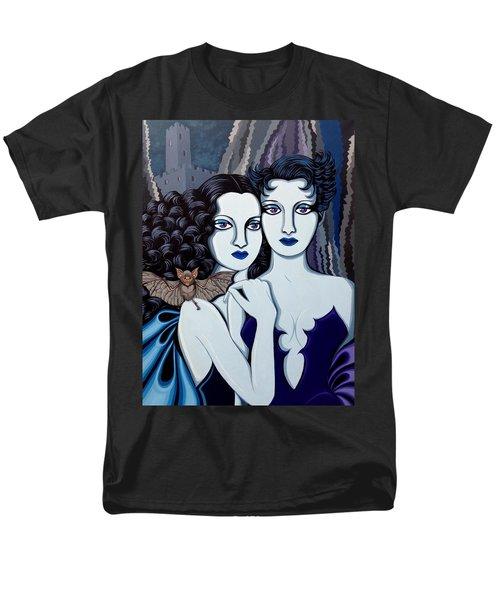 Les Vamperes Bleu Men's T-Shirt  (Regular Fit) by Tara Hutton