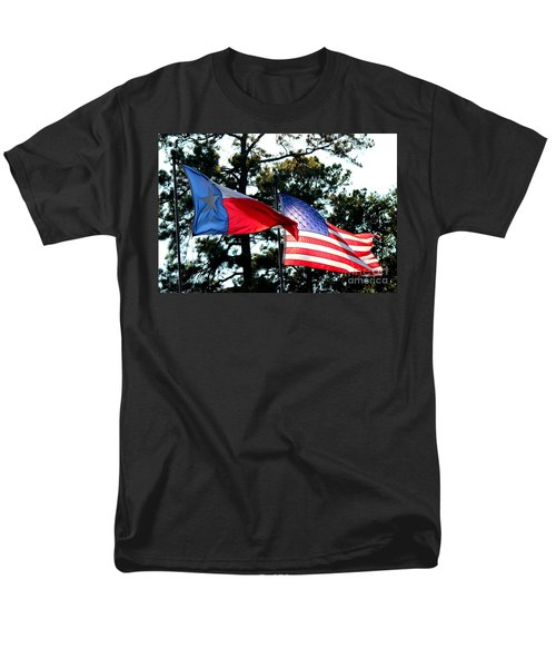 Men's T-Shirt  (Regular Fit) featuring the photograph Let Freedom Ring by Kathy  White