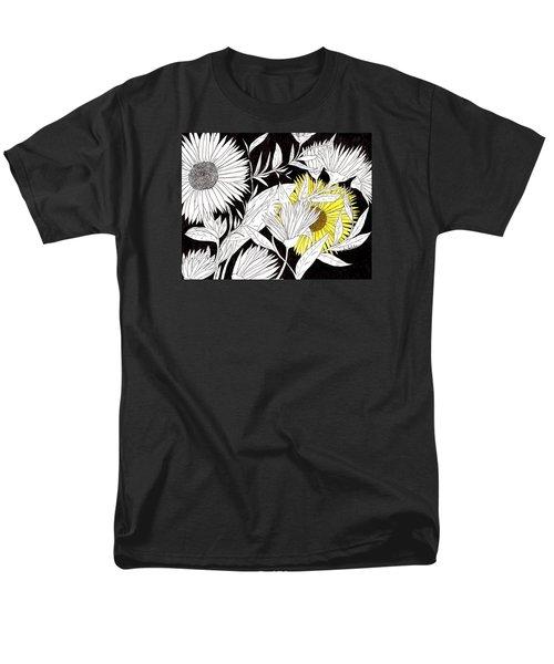 Let Your Light Shine Men's T-Shirt  (Regular Fit) by Lou Belcher
