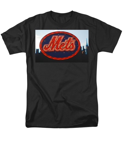 Lets Go Mets Men's T-Shirt  (Regular Fit) by Richard Bryce and Family