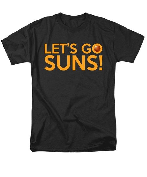 Let's Go Suns Men's T-Shirt  (Regular Fit) by Florian Rodarte