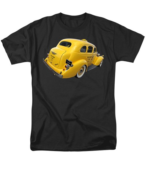 Let's Ride - Studebaker Yellow Cab Men's T-Shirt  (Regular Fit) by Gill Billington