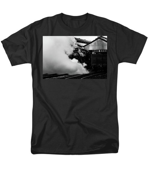 Letting Off Steam Men's T-Shirt  (Regular Fit) by Ken Brannen