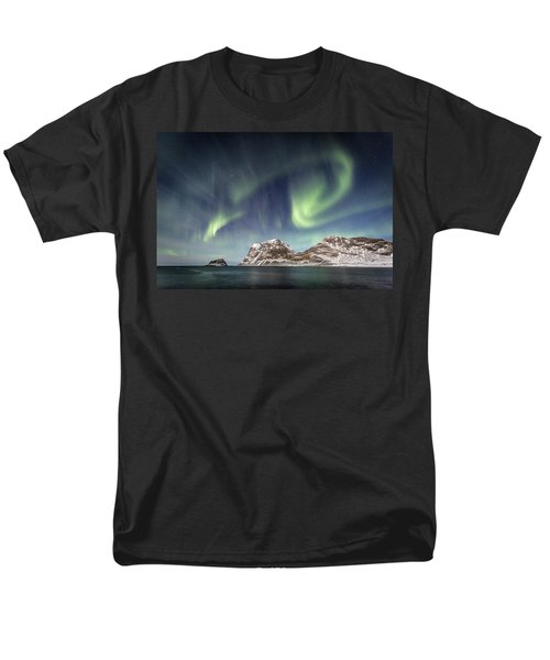 Light Show Men's T-Shirt  (Regular Fit)