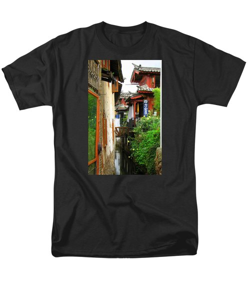 Lijiang Back Canal Men's T-Shirt  (Regular Fit) by Carla Parris
