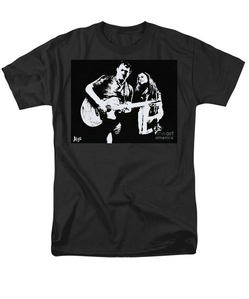 Like Johnny And June Men's T-Shirt  (Regular Fit) by Alys Caviness-Gober