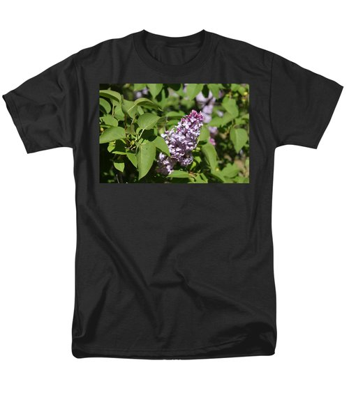 Men's T-Shirt  (Regular Fit) featuring the photograph Lilacs 5551 by Antonio Romero
