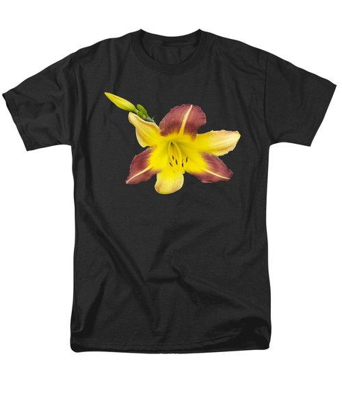 Men's T-Shirt  (Regular Fit) featuring the photograph Lily And Bud 2 by Mike Breau
