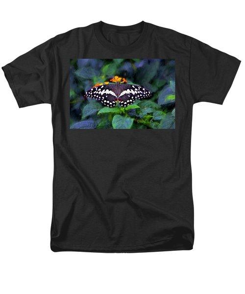 Lime Swallow Tail Men's T-Shirt  (Regular Fit)