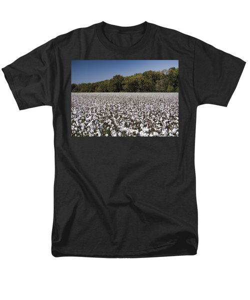 Limestone County Alabama Cotton Crop Men's T-Shirt  (Regular Fit) by Kathy Clark