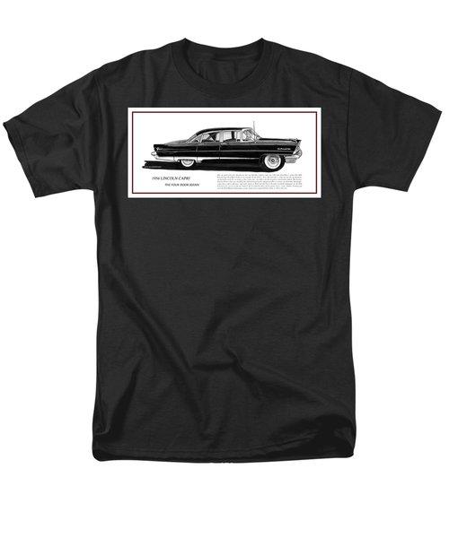 Lincoln Capri 1956 Men's T-Shirt  (Regular Fit) by Jack Pumphrey