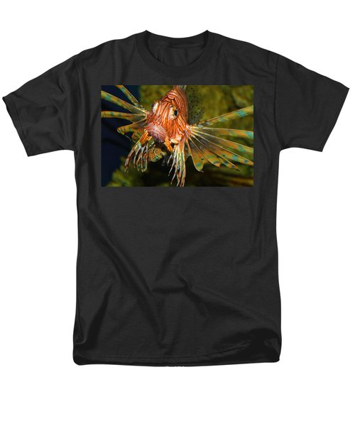 Lion Fish 2 Men's T-Shirt  (Regular Fit) by Kathryn Meyer