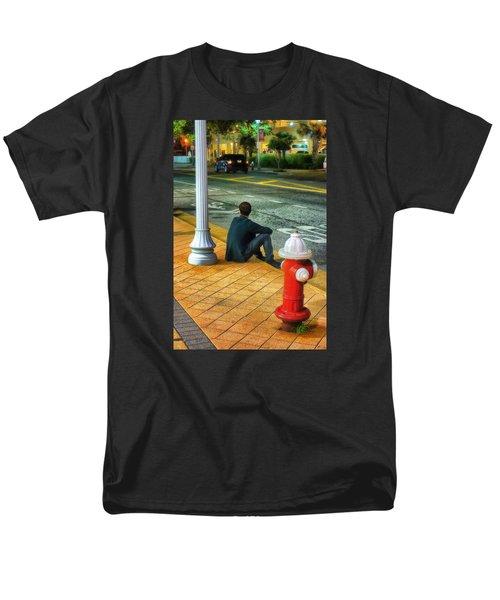 Listening  Men's T-Shirt  (Regular Fit)