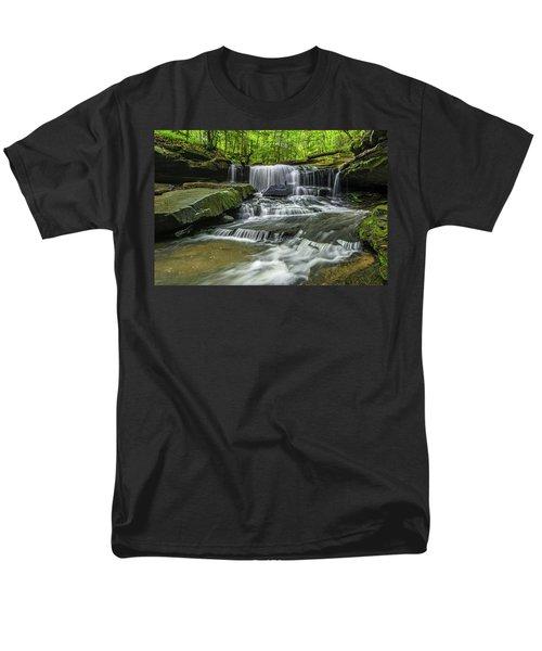 Little Mudlick Falls Men's T-Shirt  (Regular Fit) by Ulrich Burkhalter