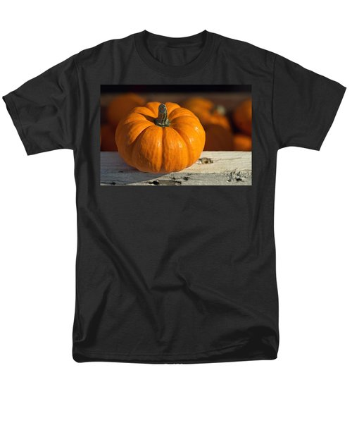 Little Pumpkin Men's T-Shirt  (Regular Fit) by Joseph Skompski