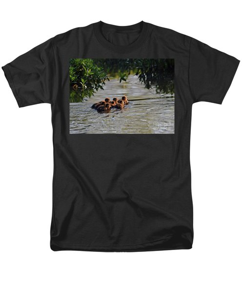 Little Quackers Looking For Mama Men's T-Shirt  (Regular Fit) by Debby Pueschel