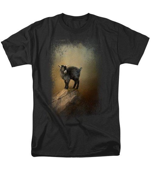 Little Rock Climber Men's T-Shirt  (Regular Fit) by Jai Johnson