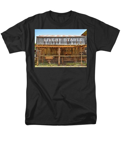 Livery Stable Men's T-Shirt  (Regular Fit) by Ray Shrewsberry
