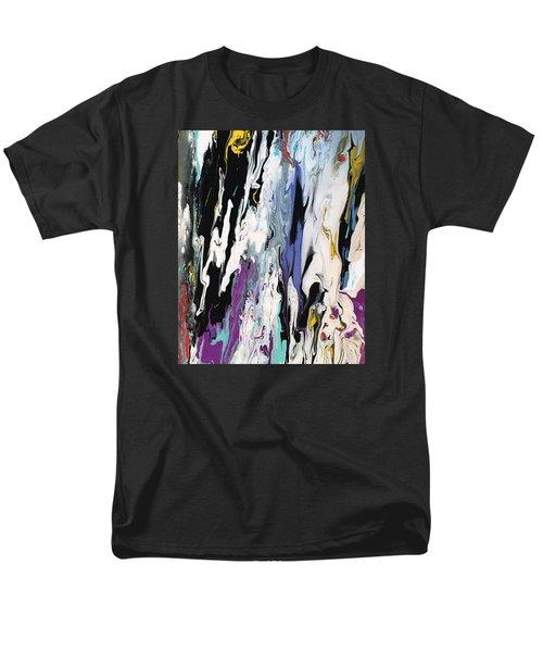 Livin' On The Edge Men's T-Shirt  (Regular Fit)
