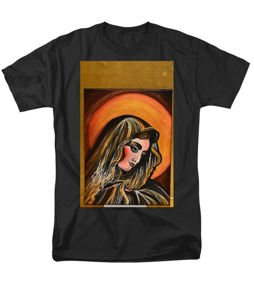 lLady of sorrows Men's T-Shirt  (Regular Fit) by Sandro Ramani