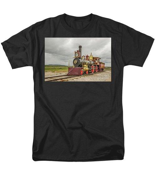 Locomotive No. 119 Men's T-Shirt  (Regular Fit) by Sue Smith