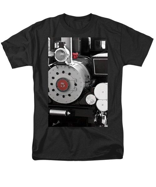 Locomotive Number Five Men's T-Shirt  (Regular Fit) by Colleen Coccia