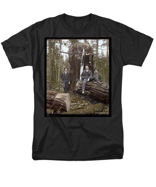 Loggers Sunday Best 1911 Men's T-Shirt  (Regular Fit) by Martin Konopacki Restoration