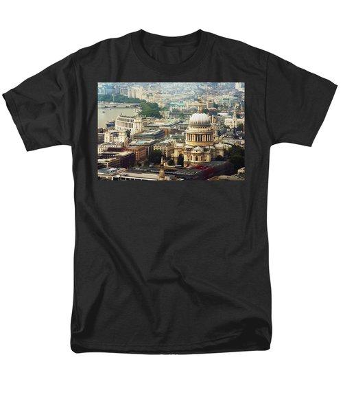 London Rooftops Men's T-Shirt  (Regular Fit) by Judi Saunders
