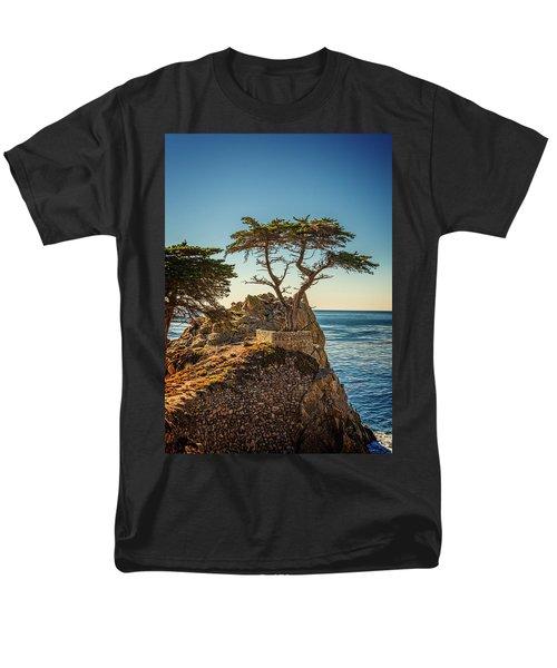 Lone Cypress Tree Men's T-Shirt  (Regular Fit) by James Hammond