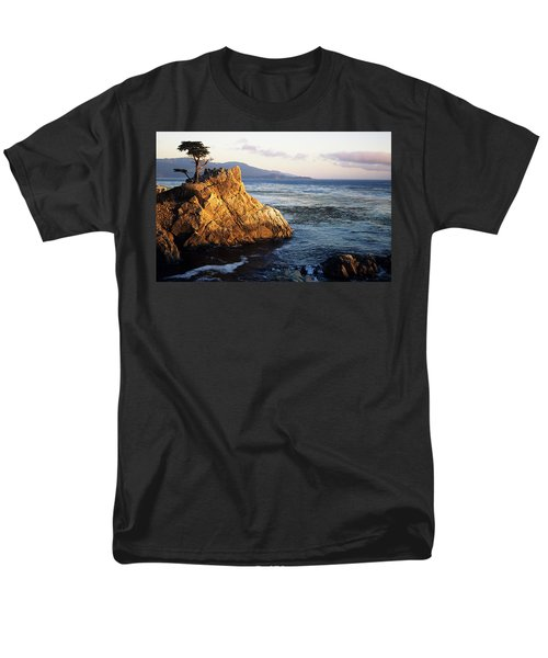 Lone Cypress Tree Men's T-Shirt  (Regular Fit) by Michael Howell - Printscapes