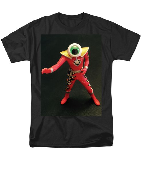 Men's T-Shirt  (Regular Fit) featuring the sculpture Lone Eye Ranger by Douglas Fromm
