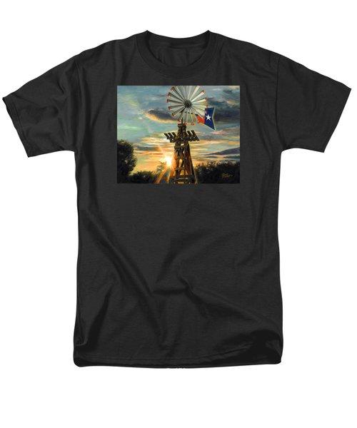 Lone Star Sky Men's T-Shirt  (Regular Fit) by Doug Kreuger