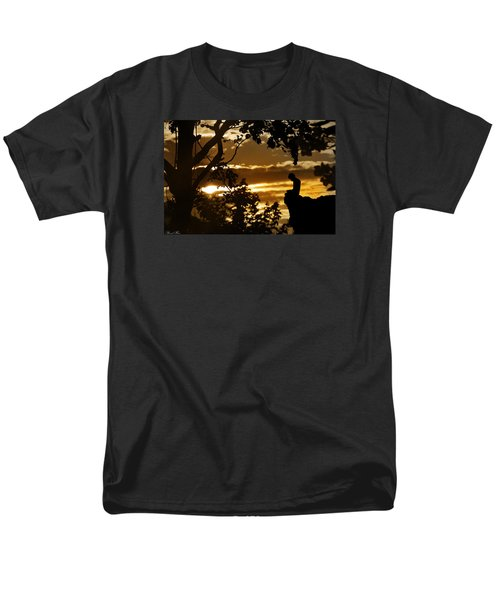 Men's T-Shirt  (Regular Fit) featuring the photograph Lonely Prayer by Bernd Hau