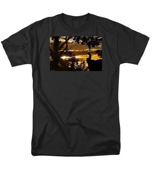 Lonely Prayer Men's T-Shirt  (Regular Fit)