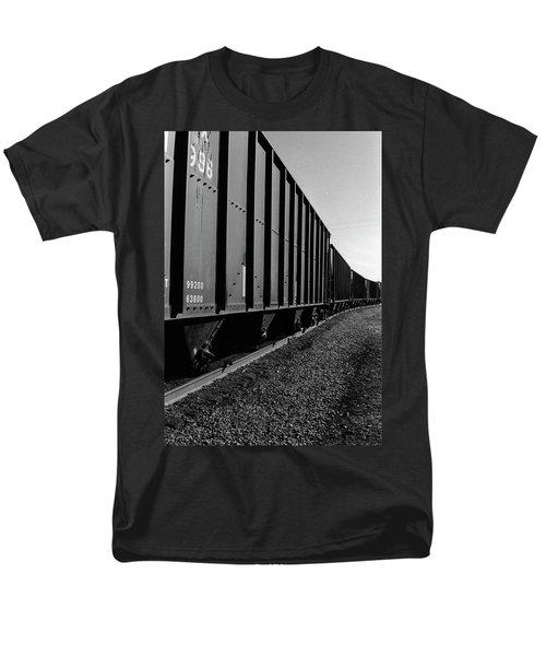 Men's T-Shirt  (Regular Fit) featuring the photograph Long Black Train by Tara Lynn