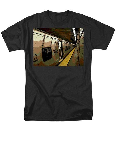 Long Island Railroad Men's T-Shirt  (Regular Fit) by George Pedro