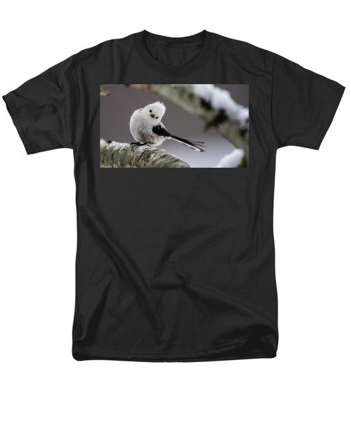 Men's T-Shirt  (Regular Fit) featuring the photograph Long-tailed Look by Torbjorn Swenelius