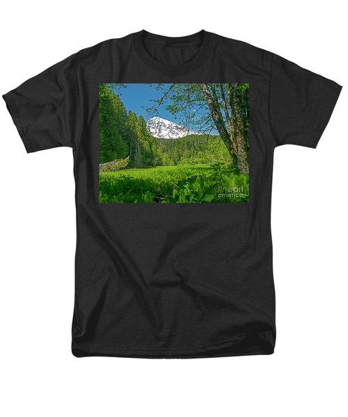 Longmire Meadows 0761 Men's T-Shirt  (Regular Fit) by Chuck Flewelling