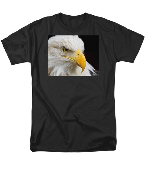 Look Of The Eagle Men's T-Shirt  (Regular Fit) by Ernie Echols
