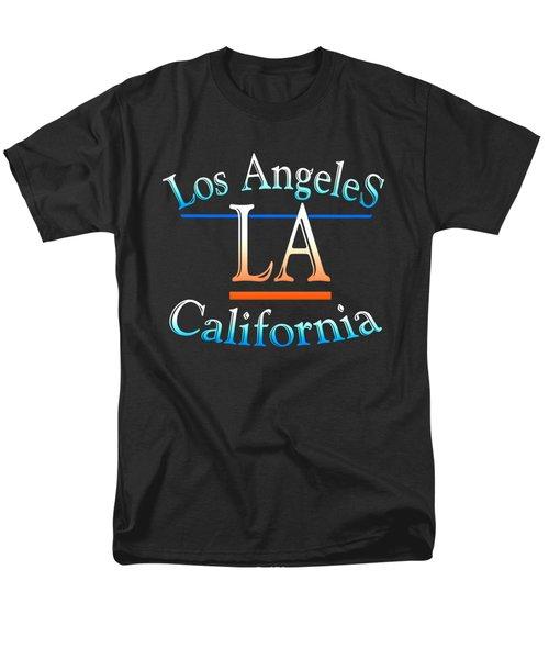 Los Angeles California Design Men's T-Shirt  (Regular Fit)