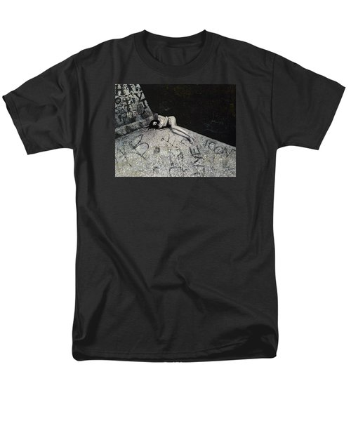 Lost In New York Men's T-Shirt  (Regular Fit) by Yelena Tylkina
