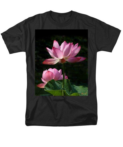 Lotus Beauties--upstaged Dl048 Men's T-Shirt  (Regular Fit) by Gerry Gantt