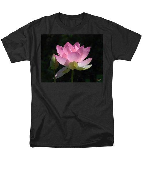 Lotus Bud--snuggle Bud Dl005 Men's T-Shirt  (Regular Fit) by Gerry Gantt