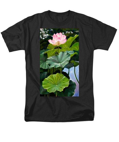 Lotus Rising Men's T-Shirt  (Regular Fit) by John Lautermilch
